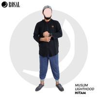 MUSLIM LIGHTHOOD Jaket Hoodie Dengan Ketebalan Sedang by Rosal