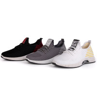 Sepatu Pria Sneakers Sayt Rlae Motif Garis Belakang 3 Pilihan Warna