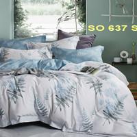 bedcover set sprei sutra tancel motif sale - 100X200T30