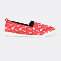 Sepatu Wanita Wakai Slip-On FWCC119 UKIYOSMILECOKE Red White
