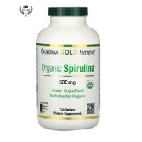 California Gold Nutrition Organic Spirulina USDA Certified 720 tablets