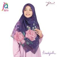 Jilbab Afra JA Signature Voal Segi Empat Hijab Instant Motif Khadijah