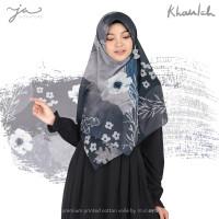 Jilbab Afra JA Signature Voal Segi Empat Hijab Instant Motif Khaulah