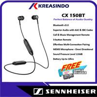 Sennheiser CX 150BT CX150BT In Ear Wireless Earphone Garansi Resmi