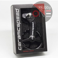 Ceramic Speed OSPW Coated Dura Ace 9100 9150 And Ultegra 8000 BLACK