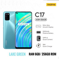 Realme C17 6/256GB-Ram 6GB internal 256GB Garansi Resmi - Lake Green