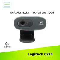Logitech C270 Webcam HD 720p GARANSI RESMI