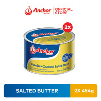 Bundling Anchor Salted Butter 454gr - 2 Pcs