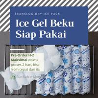 Ice Gel Beku Siap Pakai / Translog Dry Ice Pack Beku - TL-2