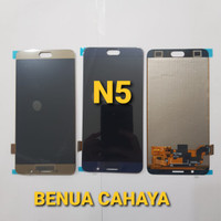LCD TOUCHSCREEN SAMSUNG NOTE 5 BLACK AAA BISA ATUR CONTRAS