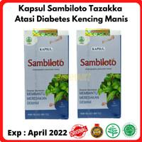 Kapsul Ekstrak Sambiloto Tazakka - Herbal Obat Demam