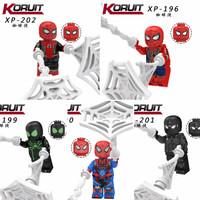 Lego Anak Motif Spiderman 1 set isi 5 pcs Termurah Terlengkap