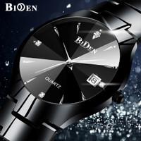 jam tangan pria BIDEN Bisnis Mewah Otomatis Date Tahan Air Kuarsa jam