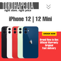 [DUAL SIM] iPhone 12 | Mini 256GB / 256 RED, BLACK, WHITE, BLUE ,GREEN