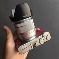 bekas fujifilm X-A3 (xa3) fullset kit 16-55mm mulus abis