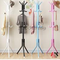 Multifunction Stand Hanger - gantungan topi / tas / jaket - besar - Random