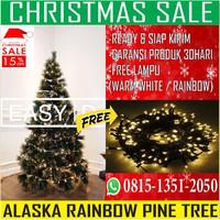 Pohon Natal Berkualitas Glitter Pine Tree Uk 3Ft/90 cm
