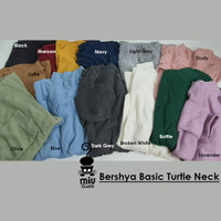 baju basic turtle neck bersya baju atasan wanita top wanita