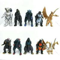 Godzilla Set 10 Figure Mecha Ghidorah Kaiju King of Monster Godzilla