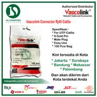 [PROMO] Vascolink Connector Rj45 Cat5e 100pcs Murmer