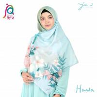 Jilbab Afra Arfa JA Signature Voal Segi Empat Hijab Instant Motif Hawa