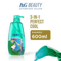 Rejoice Hijab Shampoo 3 In 1 Perfect Cool 600 Ml