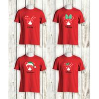 Kaos Natal Murah - KAOS NATAL DEER MICKEY MOUSE - Kaos Natal