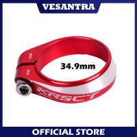 KRSCT 34.9mm Seat Clamp Seatclamp For Seatpost 30.4 30.9 31.6 mm Merah