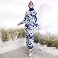[Youbi set NI]Setelan wanita rayon varian warna