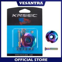 KRSEC Premium Tutup Stem Cover Top Cap Headset Sepeda Pelangi