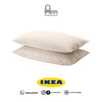 2 pcs Sarung Bantal Kepala Kamar Tidur Pillow Case IKEA DVALA 50x80cm