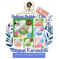 Crown Baby Bather Snuggle / Kursi Mandi Lipat Bayi / BABY BATH