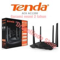 Original Tenda AC6 2.4G/5.0 GHz Smart Dual Band AC1200 Wireless Router