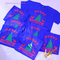 BEST SELLER-Kaos / Baju NATAL Merry Christmas murah, keren & Lucu.