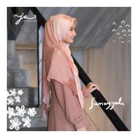Jilbab Afra JA Signature Voal Segi Empat Hijab Instant Motif Sumayyah