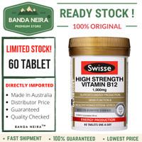 Swisse Ultiboost High Strength Vitamin B12 60 Tablet