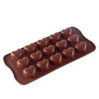 Cetakan Silikon / Cetakan coklat / Cetakan pudding / jelly / Es
