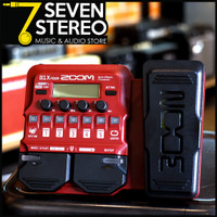 ZOOM B1X FOUR Bass Multi-Effects Pedals