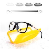 Kacamata minus pria/wanita Nike (paket+lensa Photocromic) Sporty
