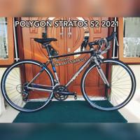 Sepeda Balap Road Bike Polygon Strattos S2 New 2021 Size S