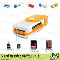 Card Reader All in One ( 4in1 ) Multi Memory Card Readers To Flashdisk