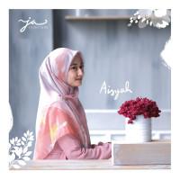 Jilbab Afra JA Signature Voal Segi Empat Hijab Instant Motif Aisyah
