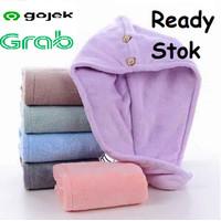 Faroot Handuk Pengering Rambut Kepala Hair Wrap Drying Towel - FO60