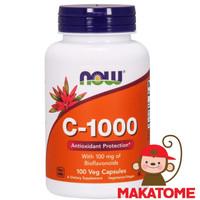 Now Foods Vitamin C 1000 mg 100 Capsule food Vit C 1,000mg 1000mg