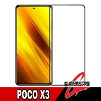 Tempered Glass Poco X3 Color Screen Protector Anti Gores Kaca
