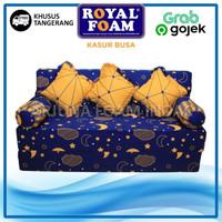 Sofa Bed Busa Royal Foam 200x160x20 cm Garansi 10th Khusus Tangerang