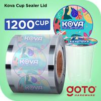 Kova Plastic Cup Sealer 1200 Penutup Gelas Plastik Lid