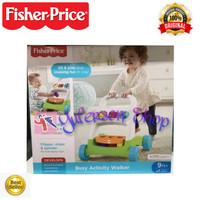 Baby Walker Fisher Price - Busy Activity Walker - Mainan Edukasi