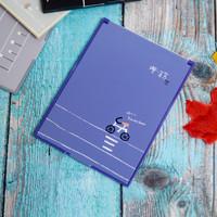 Cermin Kaca Lipat Korea Portable Untuk Make Up Motif Travel Premium