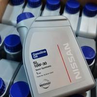 Oli Mesin NISSAN SL 10W-30 Gasoline Semi Synthetic Idemitsu Original